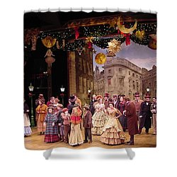 A Chrstmas Carol Shower Curtain