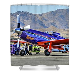 A Closer Look At Voodoo Engine Start Sundays Unlimited Gold Race Shower Curtain