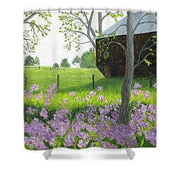 A Color Stands Abroad Shower Curtain