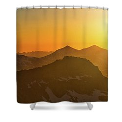 A Colorado Ending Shower Curtain
