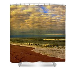 A Congregation Of Clouds Shower Curtain