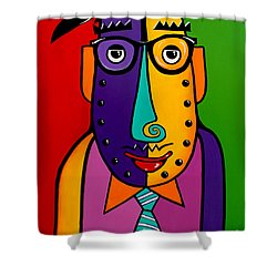 A Corporate Kinda Guy Shower Curtain by Tim Ross