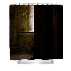 Shower Curtain featuring the photograph Slice Of Light by Lorraine Devon Wilke