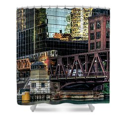 A Day In The City Shower Curtain