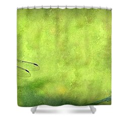 Shower Curtain featuring the photograph A Day In The Swamp by Mark Fuller