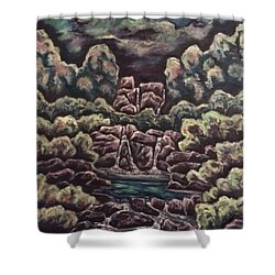 A Day To Remember Shower Curtain by Cheryl Pettigrew