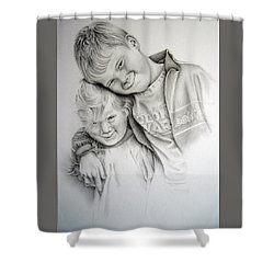 A Day To Remember  Shower Curtain