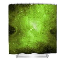 Shower Curtain featuring the photograph A Death Star's Ghostly Glow by Nasa