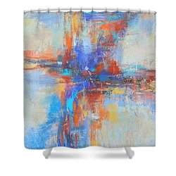 A Deep Breath Shower Curtain