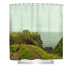 A Defensible Position Shower Curtain by Jan W Faul