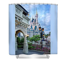 Shower Curtain featuring the photograph A Different Angle by Greg Fortier