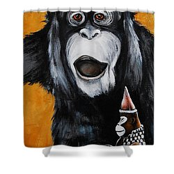 A Different Drummer Shower Curtain