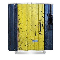 A Door Within A Door Shower Curtain