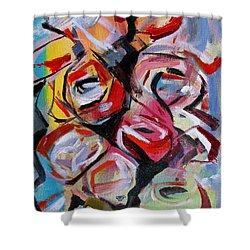 A Dozen Roses Shower Curtain