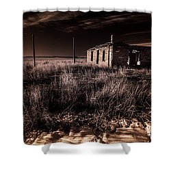 A Dream Deferred Shower Curtain by William Fields