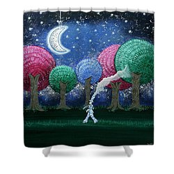 A Dream In The Forest Shower Curtain