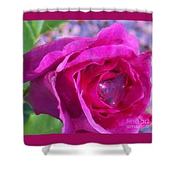 A Drop Of Love  2  Shower Curtain