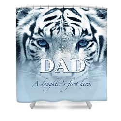A Duaghter's First Hero Shower Curtain