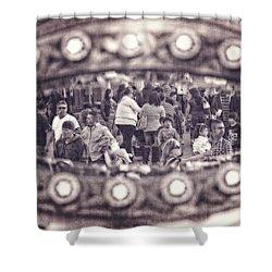 A Fair Day Shower Curtain by Caitlyn  Grasso