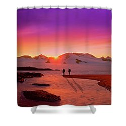 A Far-off Place Shower Curtain