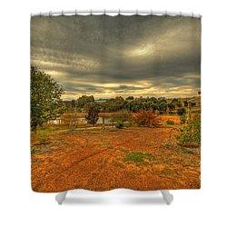 A Farm In Bridgetown, Western Australia Shower Curtain