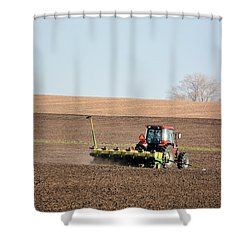 A Farmers Life Shower Curtain