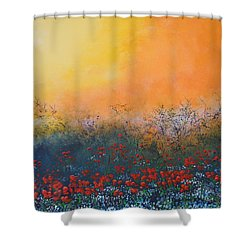 A Field In Bloom Shower Curtain