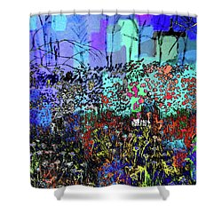 A Field Of Flowers Shower Curtain
