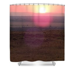 A Flare From South Africa Shower Curtain by Patrick Murphy