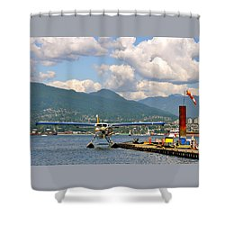 A Float Plane Shower Curtain