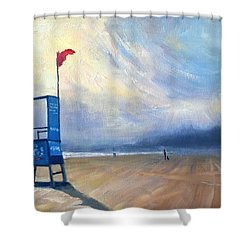 Provide, Provide, Peru Impression Shower Curtain