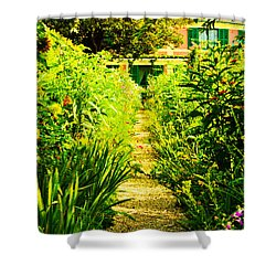 A Garden Path Home Shower Curtain