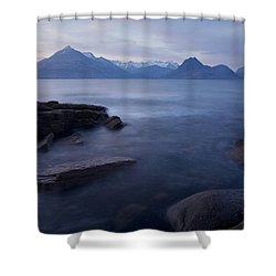 A Gentle Sunset At Elgol  Shower Curtain
