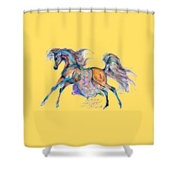 A Gift For Zeina Shower Curtain