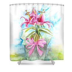 A Gift Shower Curtain