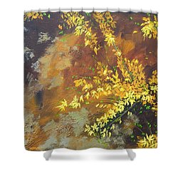 A Gift To The Giver Shower Curtain by Sue Furrow