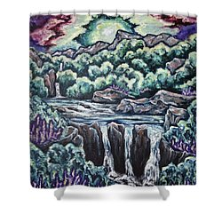 A Glimpse Of Time Shower Curtain by Cheryl Pettigrew