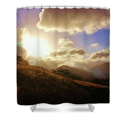 A Good Morning Shower Curtain by Craig Wood