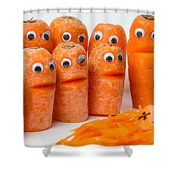 A Grate Carrot 2. Shower Curtain