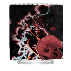 A Hard Rain's A Gonna Fall Shower Curtain