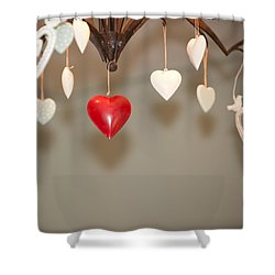 A Heart Among Hearts I Shower Curtain