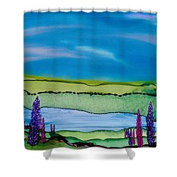 A Hint Of Lochaber Shower Curtain