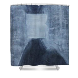 A Human Can Shed Tears Shower Curtain