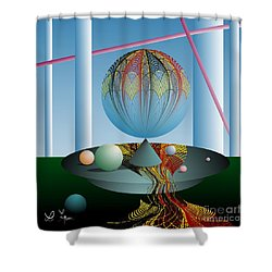 A Kind Of Magic Shower Curtain