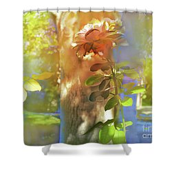 A La Sombra Shower Curtain