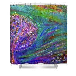 A Leap Of Faith Shower Curtain
