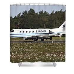 A Learjet Of Gfd With Electronic Shower Curtain by Timm Ziegenthaler