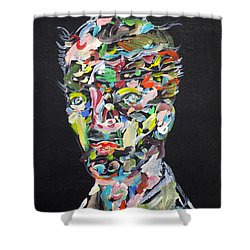 Shower Curtain featuring the painting A Life Full Of Oppurtunities by Fabrizio Cassetta