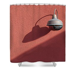 Shower Curtain featuring the photograph A Light Alone by Paul Wear