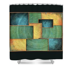 A Light Well Shower Curtain
